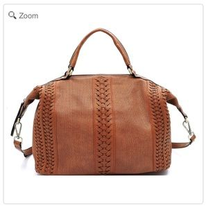 Handbags - NEW Fashion Laser Cut Printed Satchel